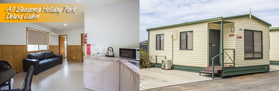 All Seasons Holiday Park Mildura Deluxe Cabins