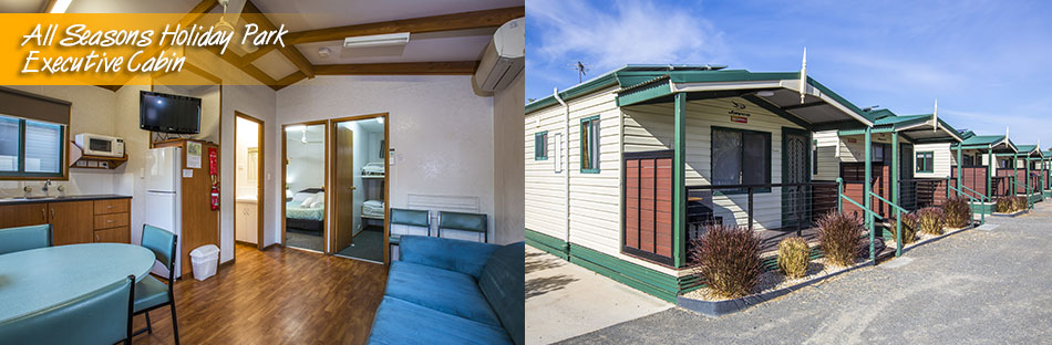 All Seasons Holiday Park Mildura Executive Cabins