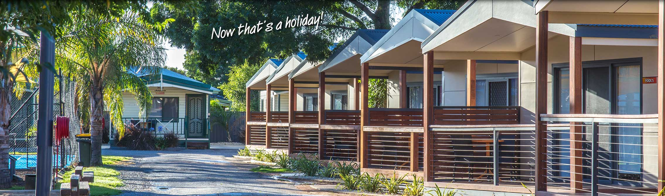 Cabin accommodation at All Seasons Holiday Park Mildura