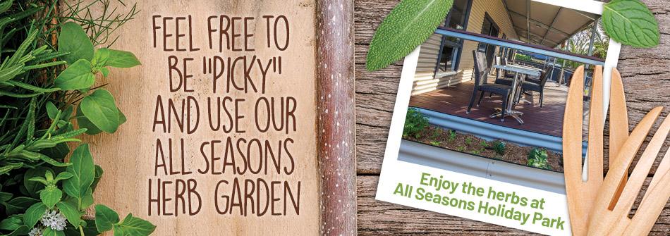 All Seasons Holiday Park Mildura Herb Garden