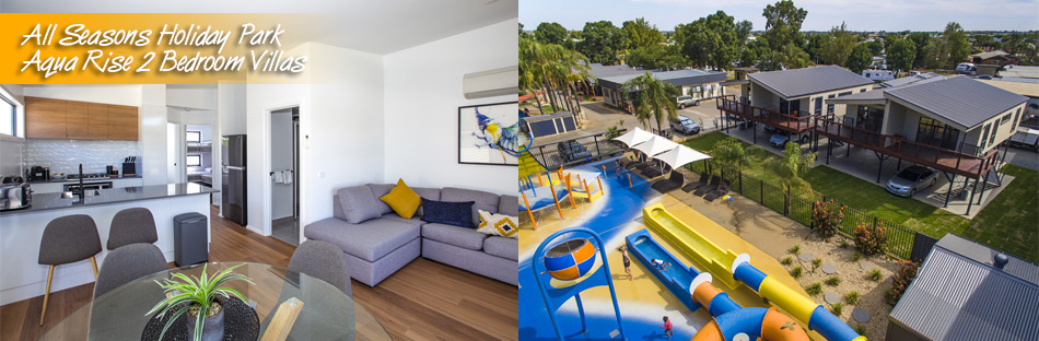 Aqua Rise 2 Bedroom Villas : All Seasons Holiday Park Mildura