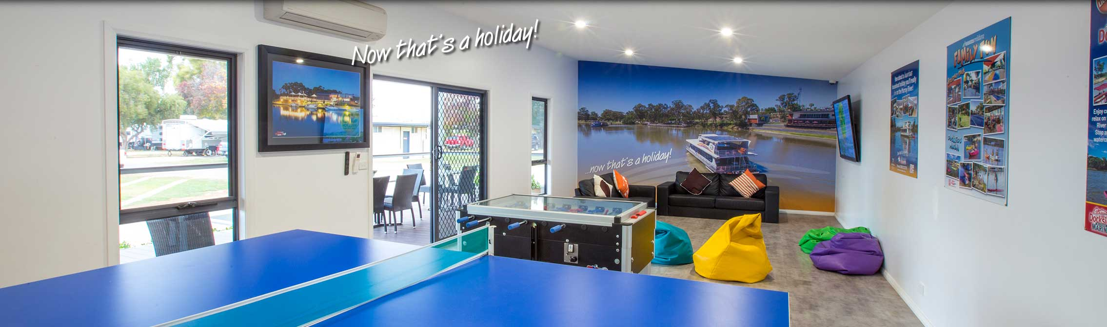 All Seasons Holiday Park Games Room