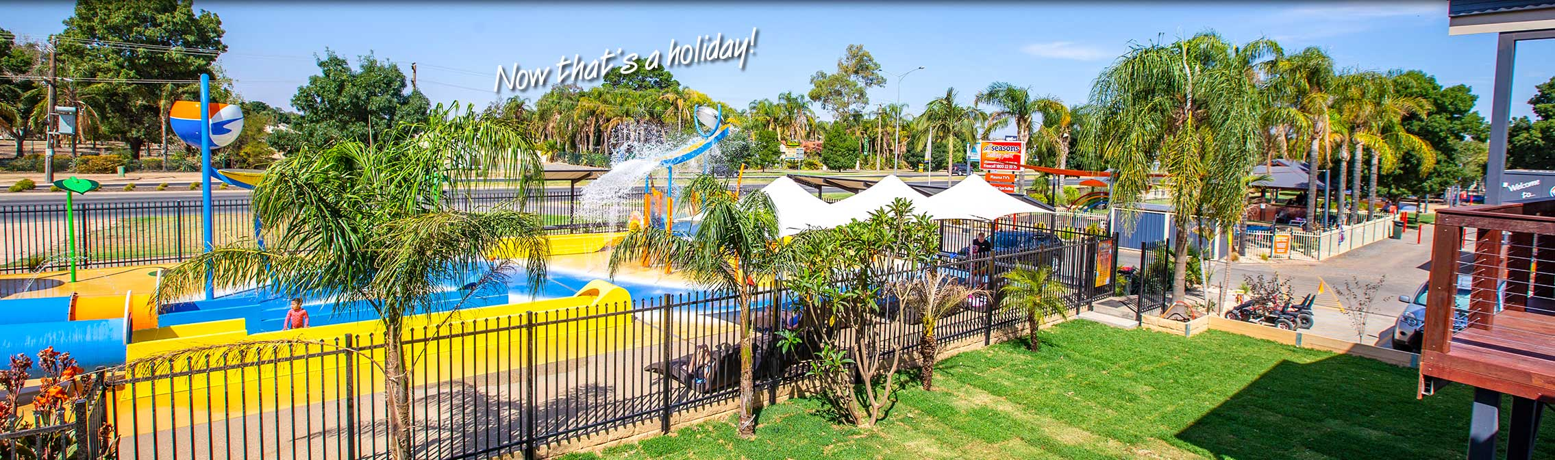 Great cabin accommodation at All Seasons Holiday Park Mildura