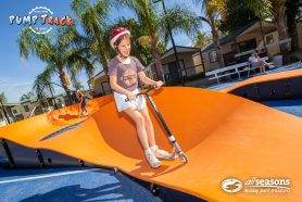 All Seasons Holiday Park Pump Track Mildura
